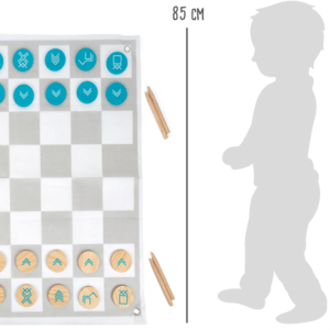 Abmessung Schach