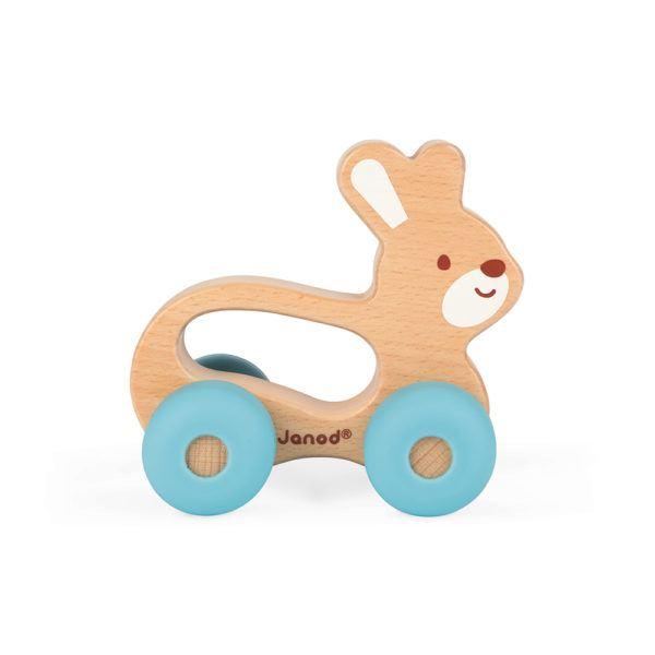 Greifling Auto aus Holz
