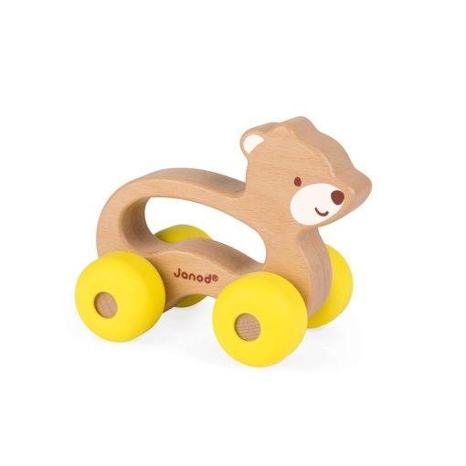 Greiflingauto Bär gelb von Janod