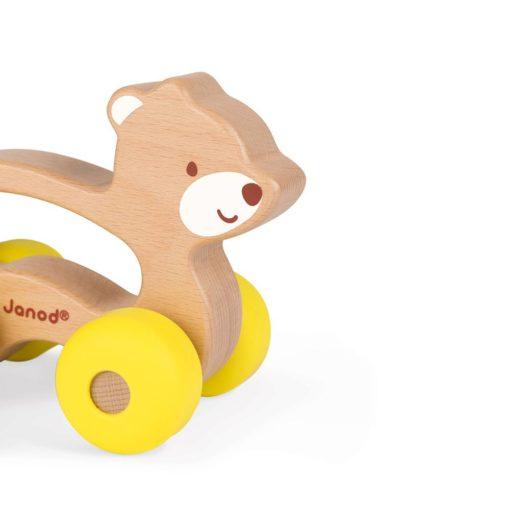 Detailansicht Greiflingauto Bär
