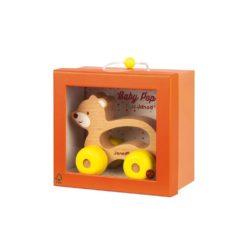 Verpackung Greiflingauto Bär gelb