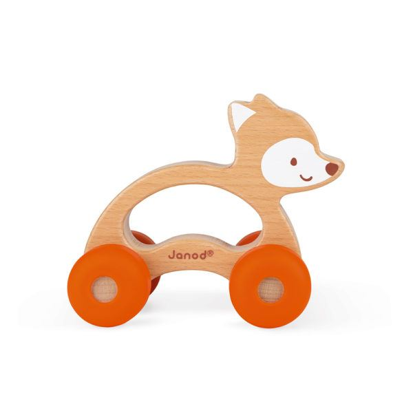 Greiflingauto Fuchs orange von Janod