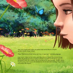 Rückseite Kinderbuch Königslibelle