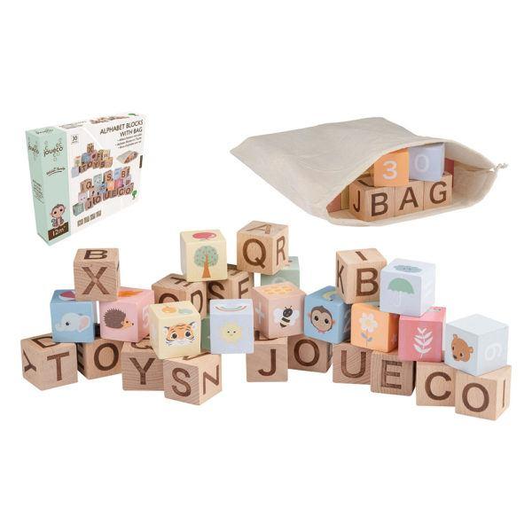 Alphabet Blöcke aus Holz von joueco von joueco
