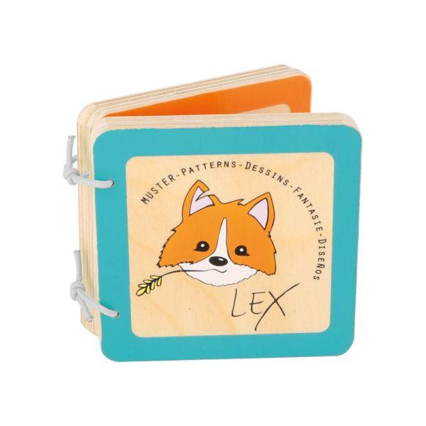 Babybuch Lex aus Holz