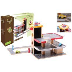 Spielzeug Garage mit Zubehör von Joueco