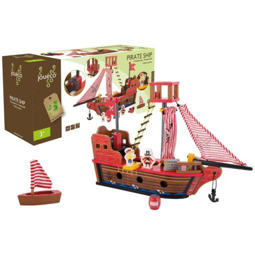 Piratenschiff aus Holz von Joueco