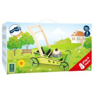 Rasenmäher Lauflernwagen