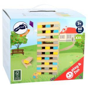 Wackelturm XXL aus Holz