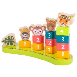 Kinder Steckspiel Jungle aus Holz