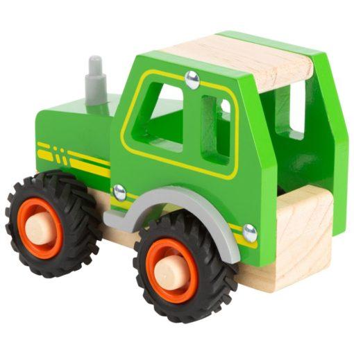 Traktor aus Holz