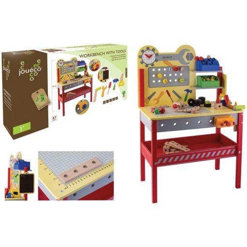 Kinderwerkbank mit Werkzeug von Joueco