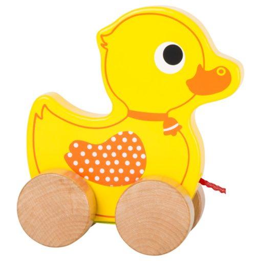 Seitenansicht Ziehtier Ente