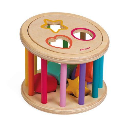 Holzspielzeug - Rolltrommel für Babys kaufen