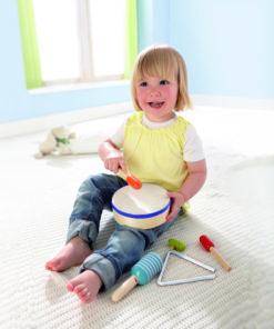 HABA Kindertrommel Rhythmik Set aus Holz