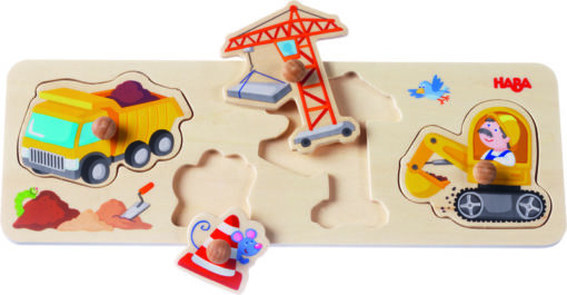 HABA - Greifpuzzle Auf der Baustelle 1