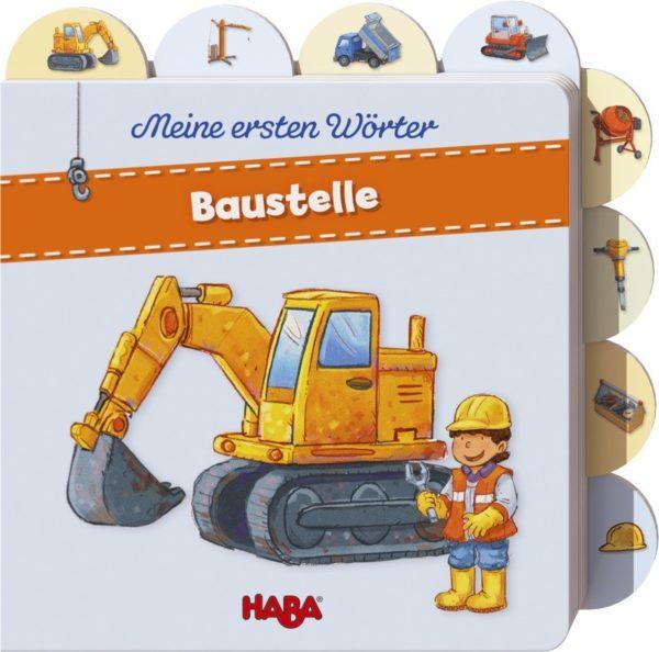 Bilderbuch ab 12 Monate Baustelle