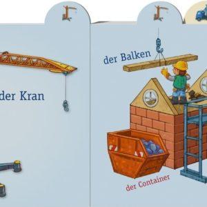 Papp-Bilderbuch Baustelle