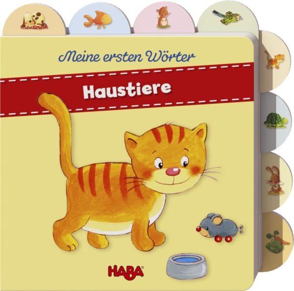 Bilderbuch Meine ersten Wörter Haustiere