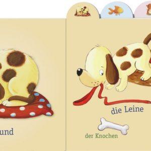 Papp-Bilderbuch Meine ersten Worte Haustiere