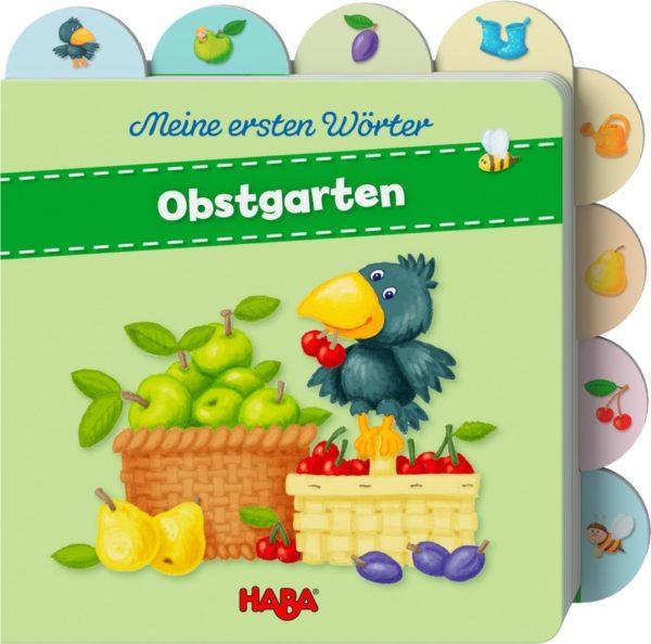 Papp-Kinderbuch Meine ersten Wörter - Obstgarten
