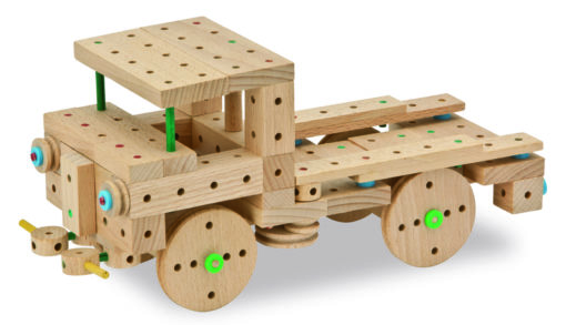 MATADOR-EXPLORER-E318 - Der Holzbaukasten ab 5 Jahre 2