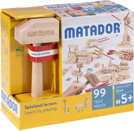 MATADOR-EXPLORER-E099 - Der Holzbaukasten ab 5 Jahre 1