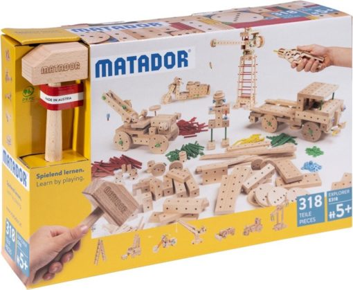 MATADOR-EXPLORER-E318 - Der Holzbaukasten ab 5 Jahre 1