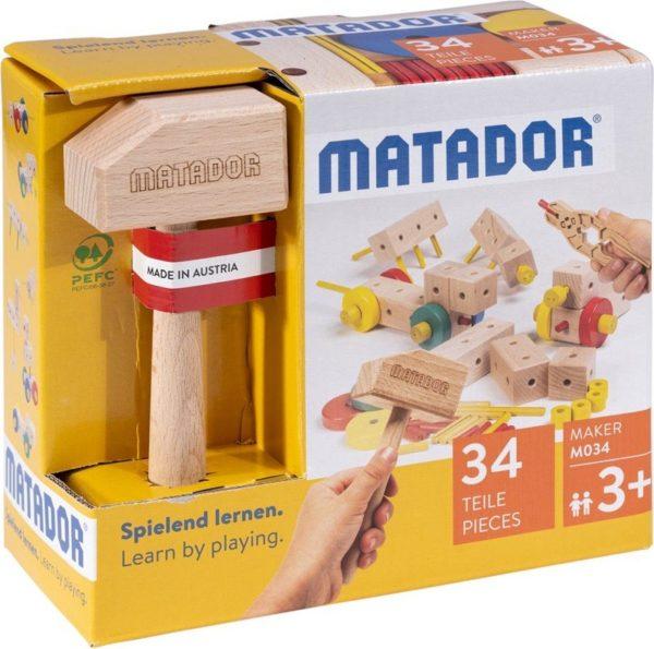 MATADOR-MAKER-M034 - Der Holzbaukasten ab 3 Jahre 1