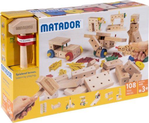 MATADOR-MAKER-M108 - Der Holzbaukasten ab 3 Jahre 1