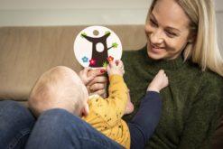 Hanniline Kontrastkarten Lernspiel Babys