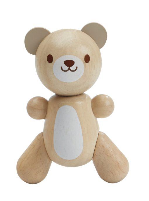 Babyspielzeug Holzbär