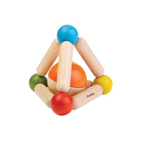 babyspielzeug buntes dreieck baby
