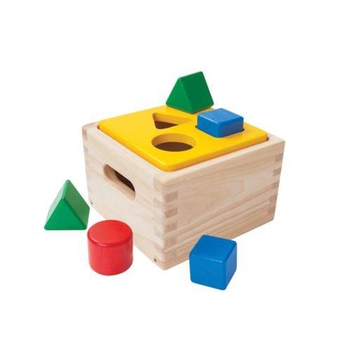 holzspielzeug würfel sortierspiel baby