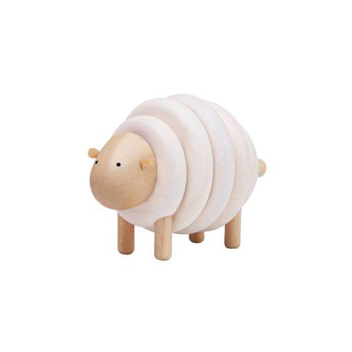 Holzspielzeug Steckspiel Schaf