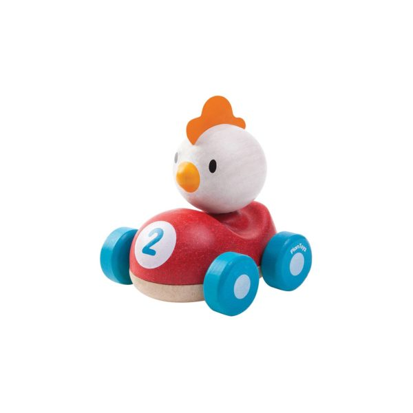 holzspielzeug chicken racer kinder