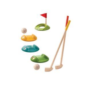 Mini Golf Set aus Holz