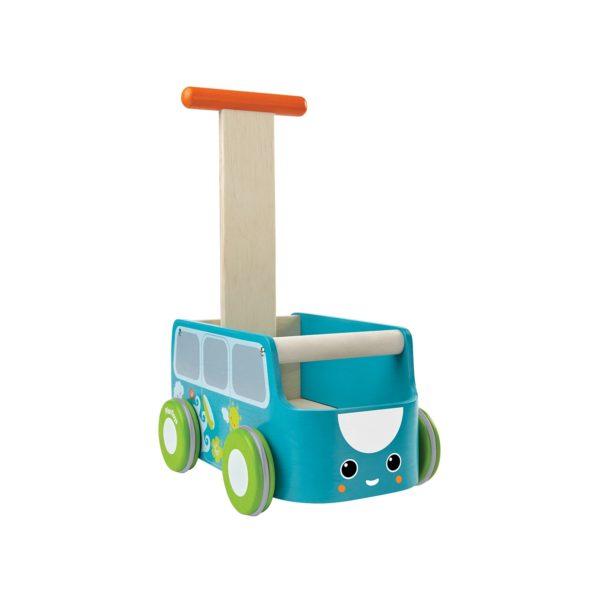 Lauflernwagen blau mit Stauraum