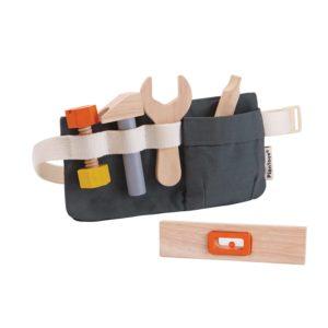 Kinder Werkzeuggürtel aus Holz