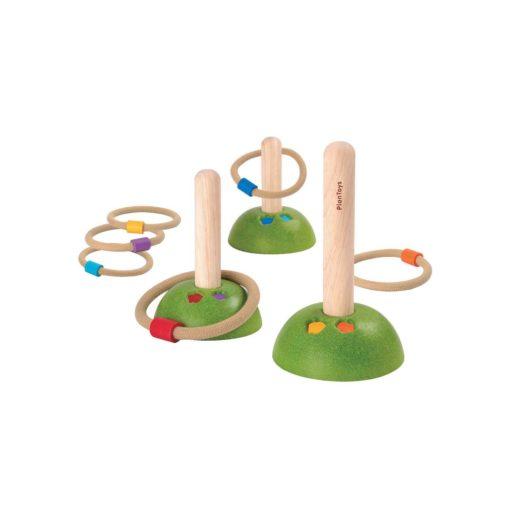 PlanToys Ring Wurfspiel aus Holz für Kinder