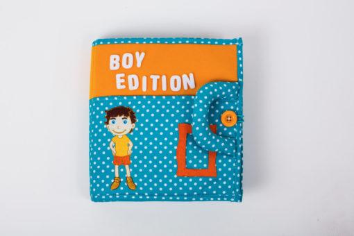 Piqipi Quiet book - Interaktives Kinderbuch Buben 1