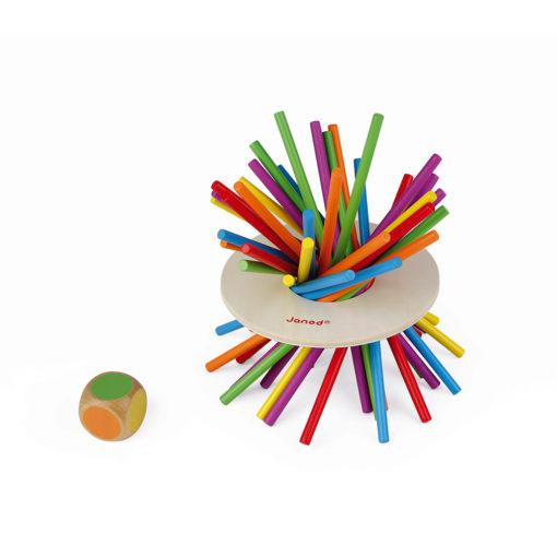 """JANOD Geschicklichkeitsspiel """"Crazy Sticks"""" 1"""
