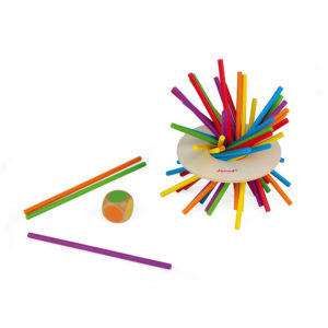 """JANOD Geschicklichkeitsspiel """"Crazy Sticks"""" 2"""
