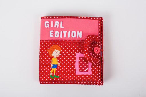 Piqipi Quiet Book - Interaktives Kinderbuch Mädchen 1