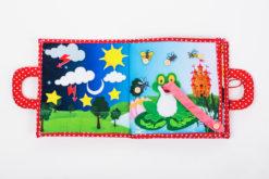 Piqipi Quiet Book - Interaktives Kinderbuch Mädchen 12