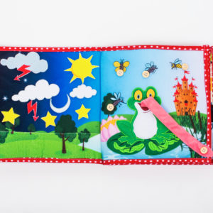 Piqipi Quiet Book - Interaktives Kinderbuch Mädchen 6