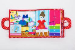 Piqipi Quiet Book - Interaktives Kinderbuch Mädchen 11