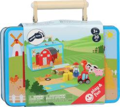 Bauernhof Spielset im Koffer 8