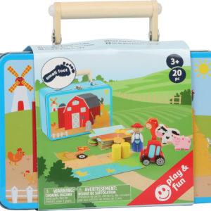 Bauernhof Spielset im Koffer 4