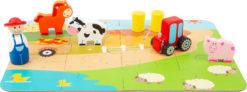 Bauernhof Spielset im Koffer 5